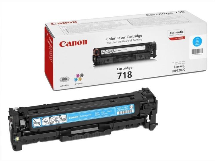 Canon CRG-718, azurový