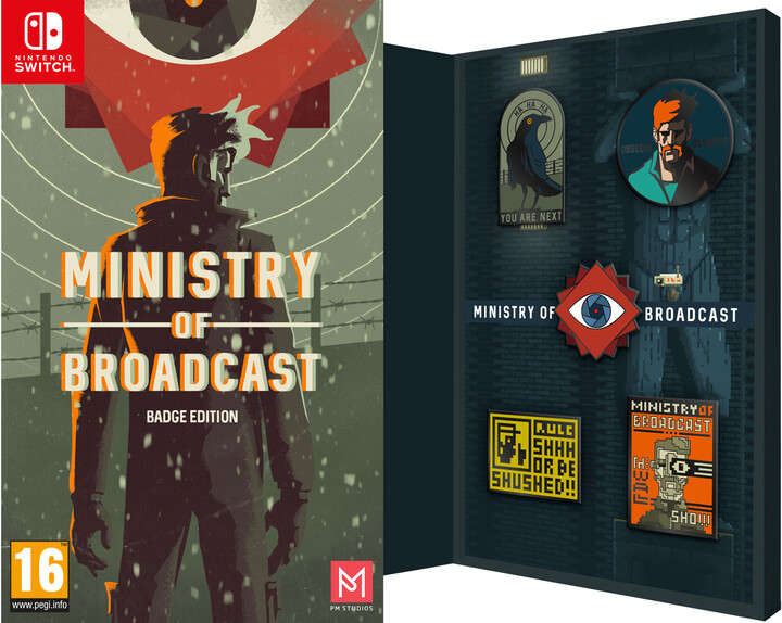 Ministry of Broadcast - Badge Edition (SWITCH)