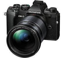Olympus E-M5 Mark III + 12-200mm II, černá/černá - V207090BE010