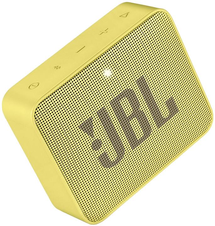 JBL GO2, žlutá