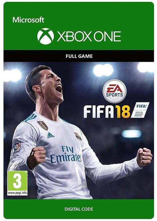 FIFA 18 (Xbox ONE) - elektronicky