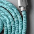 Mcdodo Knight datový kabel Lightning s inteligentním vypnutím napájení, 1.2m, modrá