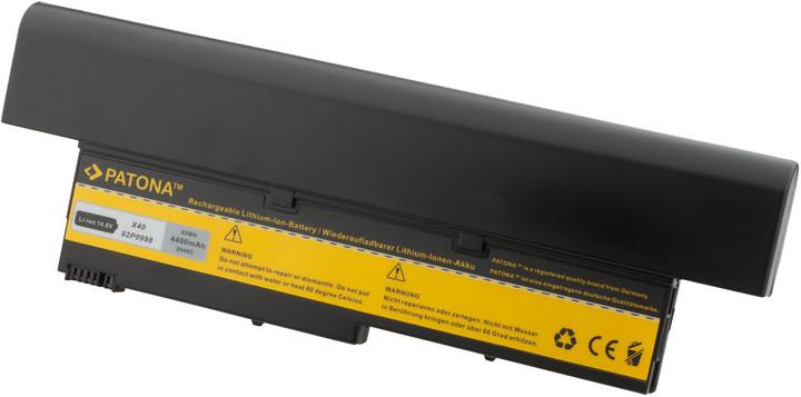 Patona baterie pro IBM, THINKPAD X40 4400mAh Li-Ion 14,4V