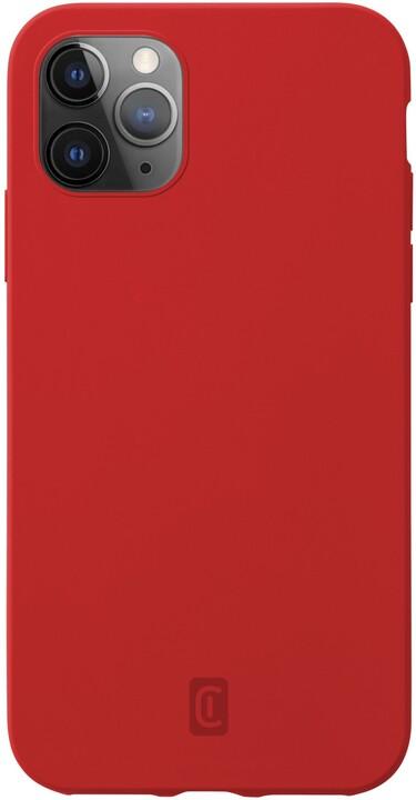 CellularLine silikonový kryt Sensation pro Apple iPhone 12 Pro Max, červená