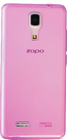 ZOPO silikonové pouzdro pro ZP330, růžová (EU Blister)
