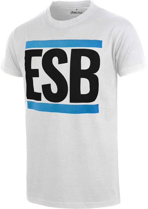 Tričko ESB, bílé (S)