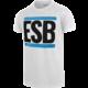 ESB tričko, bílé (L)