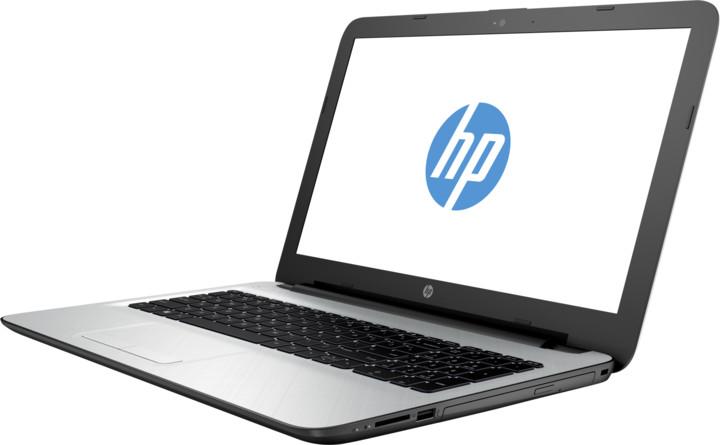 HP 15 (15-ac032nc), bílé stříbrná