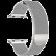 ESES milánský tah 38mm pro Apple Watch, stříbrná