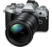 Olympus E-M5 Mark III + 12-200mm II, stříbrná/černá - V207090SE010