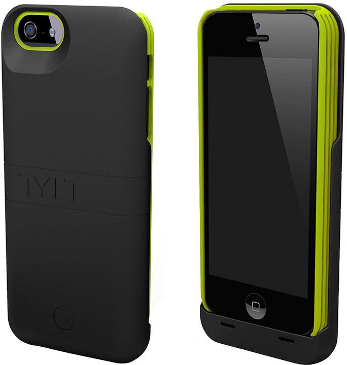 TYLT ENERGI Sliding Power Case pro iPhone 5 Černá/Zelená