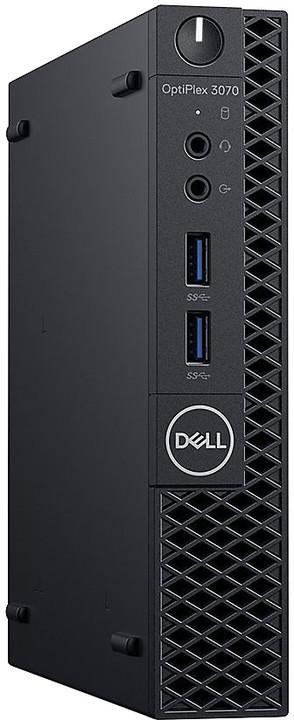 Dell Optiplex 3070 MFF, černá