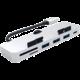 Satechi Aluminum Type-C Clamp HUB Pro, stříbrná