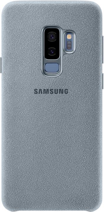 Samsung zadní kryt - kůže Alcantara pro Samsung Galaxy S9+, mint