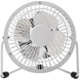 NEDIS mini ventilátor, stolní, USB, bílá