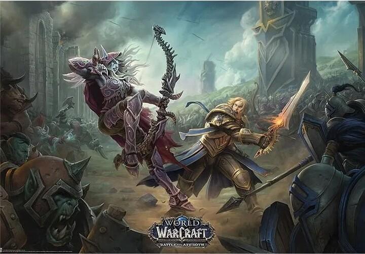 Plakát World of Warcraft - Battle for Azeroth