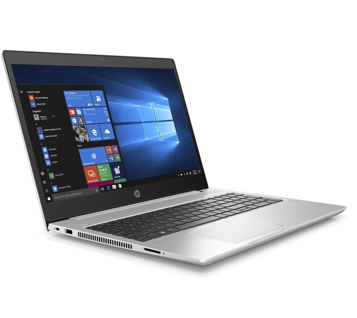 HP ProBook 450 G6, stříbrná