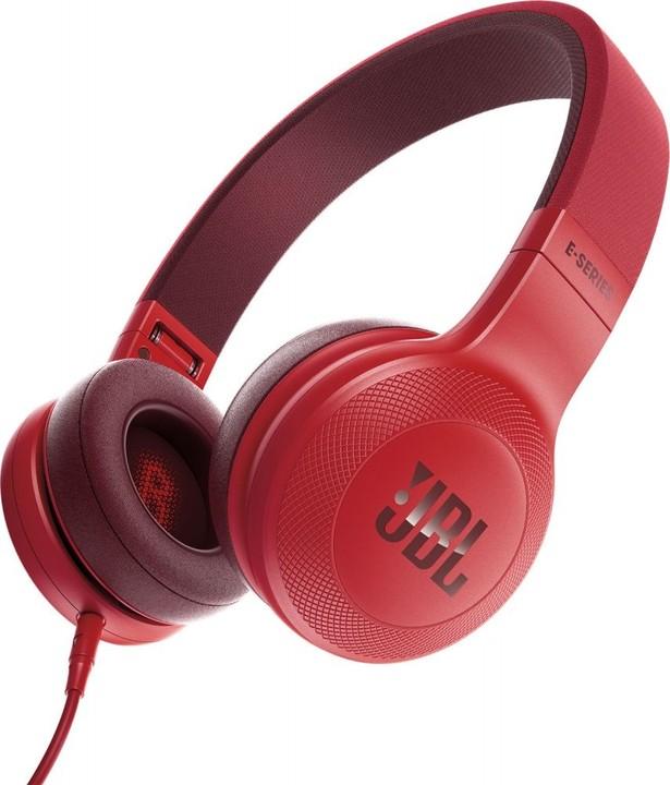 JBL E35, červená
