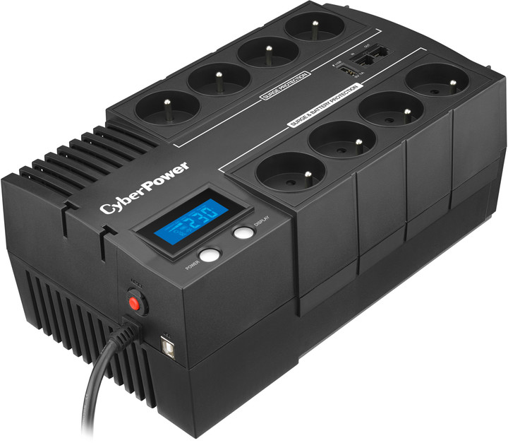 CyberPower BRICs Series II SOHO 700VA/420W, LCD