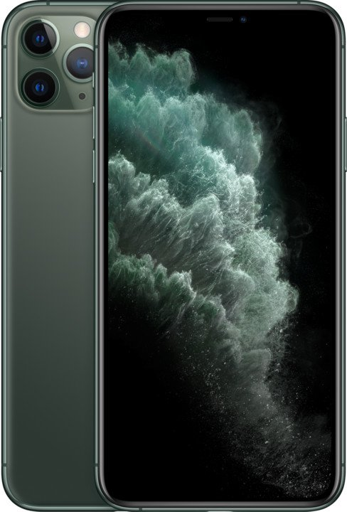 Apple iPhone 11 Pro Max, 512GB, Midnight Green