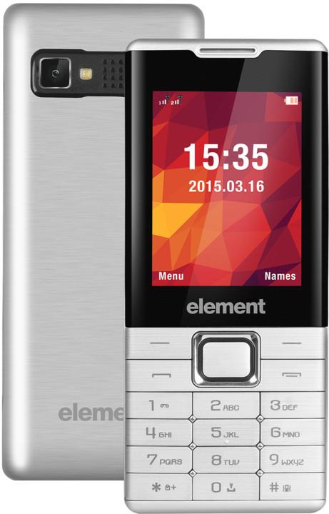 Sencor Element P020, stříbrná