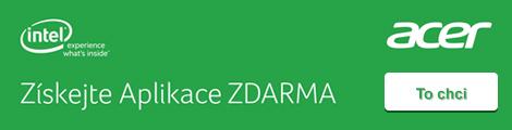 Acer ntb + Intel zdarma