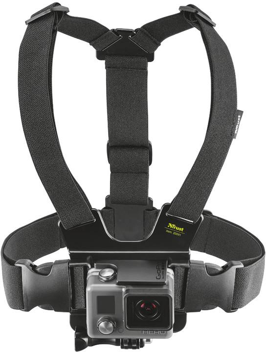Trust držák pro akční kameru na hruď