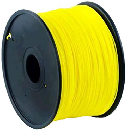 Gembird tisková struna (filament), PLA, 1,75mm, 1kg, neonová žlutá