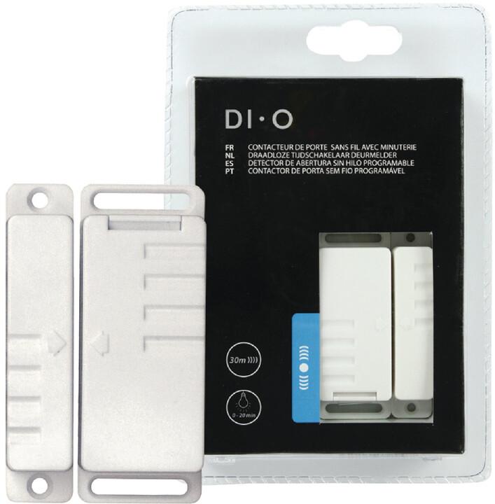 DI-O senzor otevření okna/dveří, s časovačem, bíílá