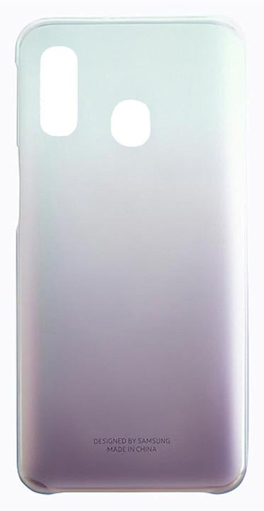 Samsung Gradation kryt pro Galaxy A40, černá