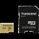 Transcend Micro SDHC 500S 8GB 95MB/s UHS-I U1 + SD adaptér
