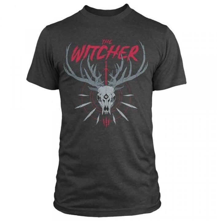 Tričko The Witcher - Trophy Hunter (S)
