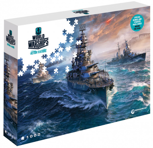 Puzzle World of Warships - Připraveni k boji