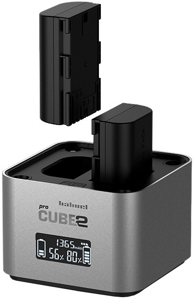 Hähnel nabíječka baterie Procube 2 Twin pro Canon