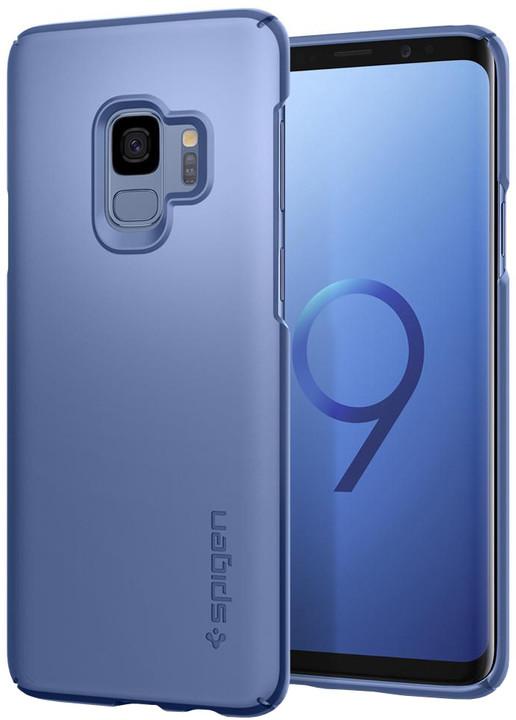 Spigen Thin Fit pro Samsung Galaxy S9, coral blue