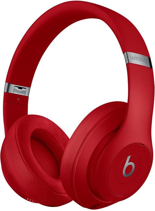 Beats Studio3, červená