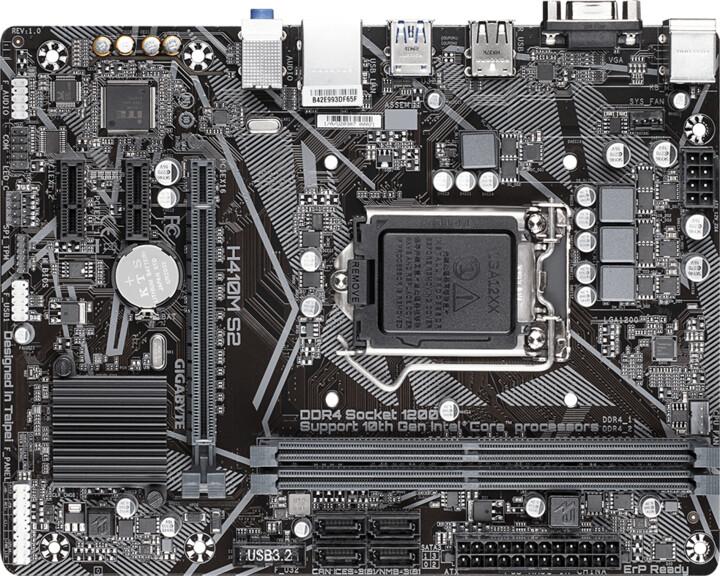 GIGABYTE H410M S2 - Intel H410