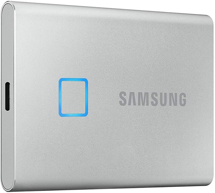 Samsung T7 Touch - 500GB, stříbrná
