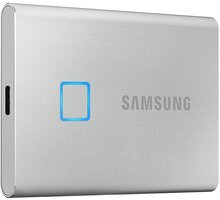 Samsung T7 Touch - 500GB, stříbrná - MU-PC500S/WW