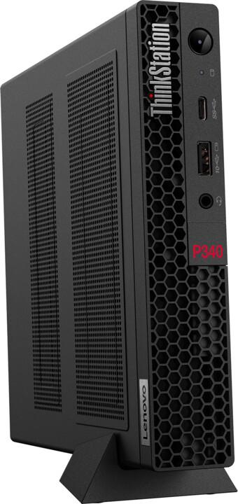 Lenovo ThinkStation P340 Tiny, černá