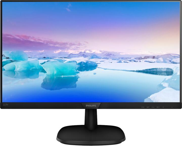 "Philips 223V7QHAB - LED monitor 21,5"""