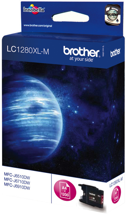 Brother LC-1280XLM, magenta
