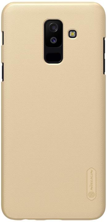Nillkin Super Frosted zadní kryt pro Samsung A605 Galaxy A6 Plus, zlatý