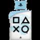 Povlečení PlayStation - Buttons (bílé)