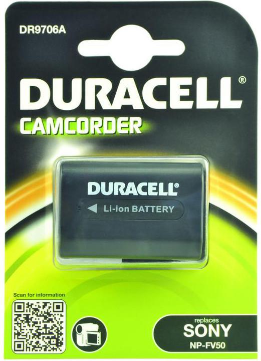 Duracell baterie alternativní pro Sony NP-FV50