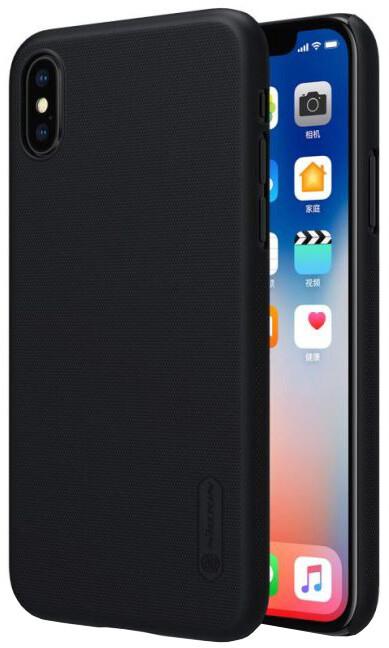Nillkin Super Frosted zadní kryt pro iPhone X, Black