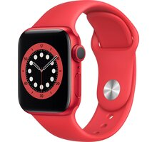Apple Watch Series 6, 40mm, PRODUCT(RED), PRODUCT(RED) Sport Band - M00A3HC/A