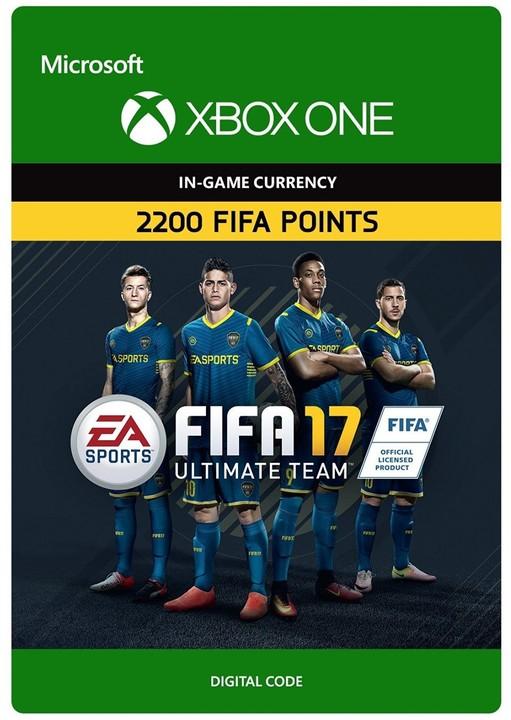 FIFA 17 - 2200 FUT Points (Xbox ONE) - elektronicky