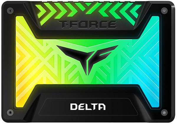 "Team T-FORCE DELTA RGB, 2,5"" - 500GB, černá"