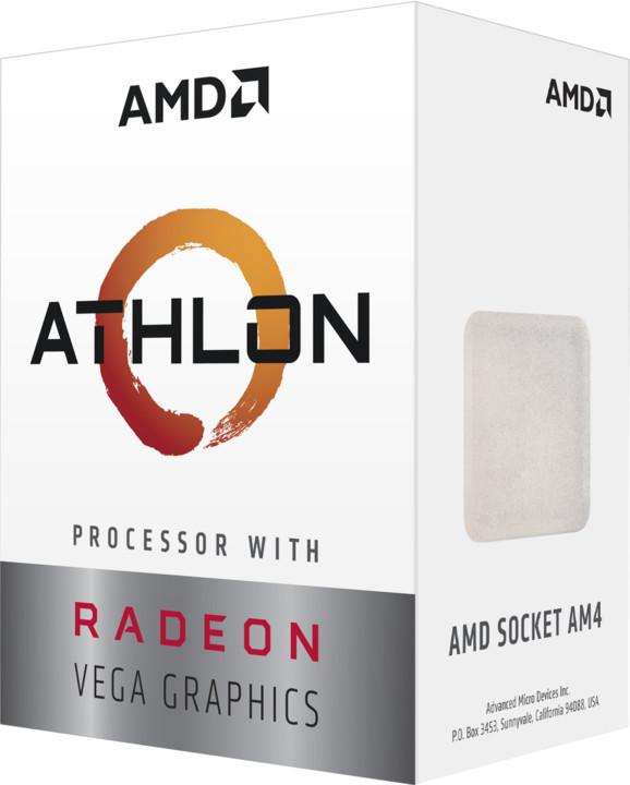 AMD Athlon 200GE VEGA